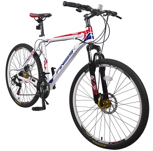 Merax Finiss 26 Aluminum 21 Speed Mountain Bike with Disc Brakes Review