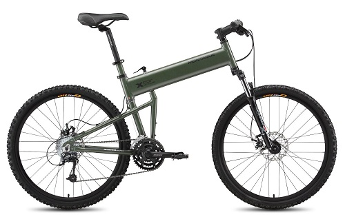 Montague Paratrooper Mountain Folding Bike Review