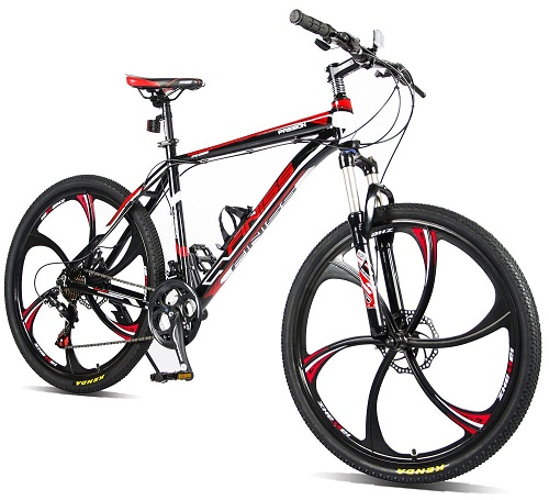 Merax Finiss 26″ Aluminum 21 Speed Mg Alloy Wheel Mountain Bike