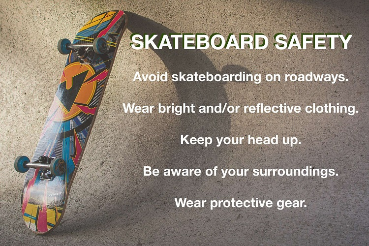 Skateboard Safety Tips for Beginners