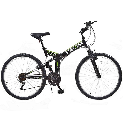 Folding Dual Suspension Mountain Bike