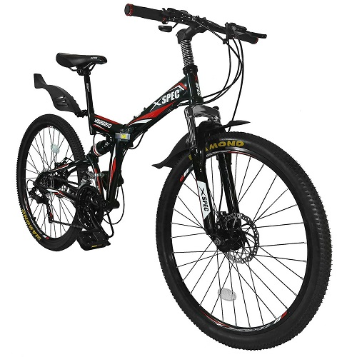 Mountain Trail Bicycle Commuter Foldable Bike